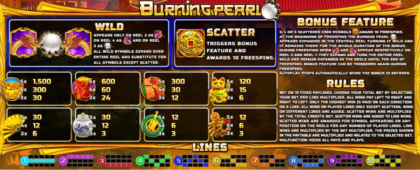 SlotXo-Burning-Pearl-โบนัส